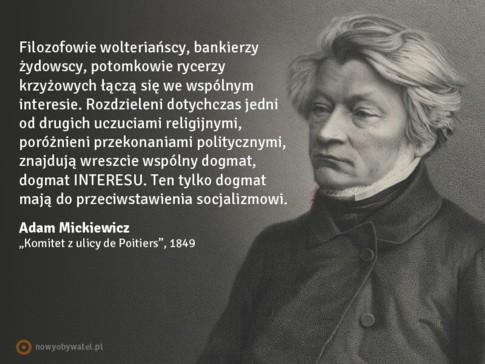 Mickiewicz Jako Socjalista Lewicowopl